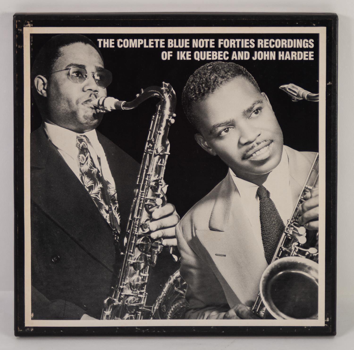 JAZZ, VINYL RECORDS- M IS FOR MOSAIC RECORDS-THE COMPLETE BLUE NOTE FORTIES RECORDINGS OF IKE QUEBEC