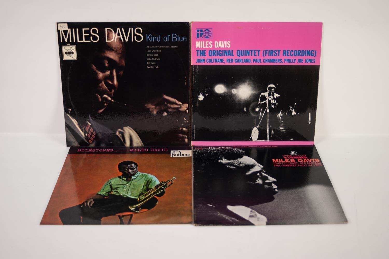 JAZZ, VINYL RECORDS- D IS FOR MILES DAVIS- KIND OF BLUE, CBS (BPG 62066). UK pressing, orange labels