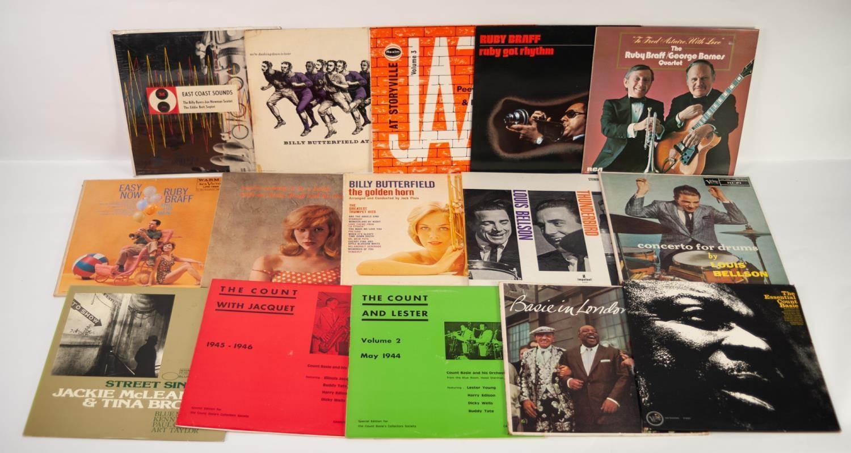 JAZZ, VINYL RECORDS- B IS FOR THE BILLY BYERS-JOE NEWMAN SEXTET THE EDDIE BERT SEPTET-EAST COAST
