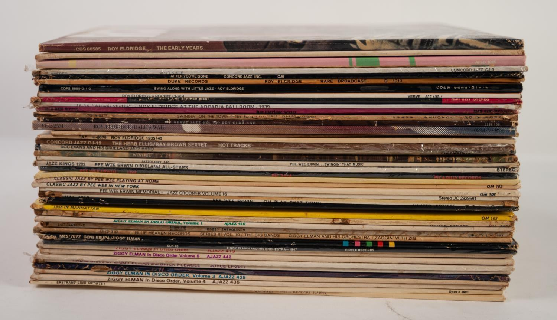 JAZZ, VINYL RECORDS- E IS FOR ROY ELDRIDGE- ?LITTLE JAZZ?, Verve (MG V 8389). The Gene Estes Band- - Image 2 of 2