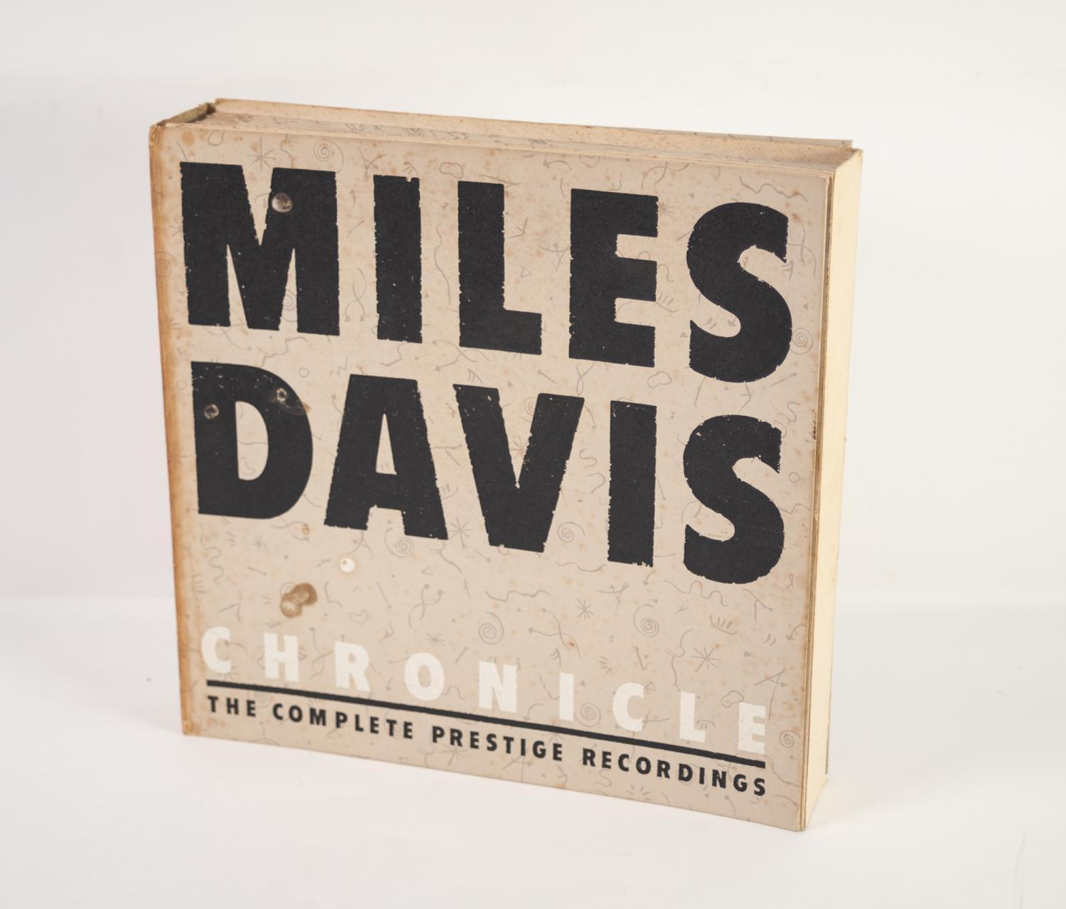 JAZZ, VINYL RECORDS- D IS FOR MILES DAVIS- CHRONICLE THE COMPLETE PRESTIGE RECORDINGS 1951-1956,