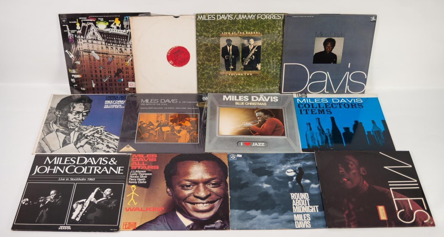 JAZZ, VINYL RECORDS- D IS FOR MILES DAVIS- ROUND ABOUT MIDNIGHT, CBS (62323) French pressing.
