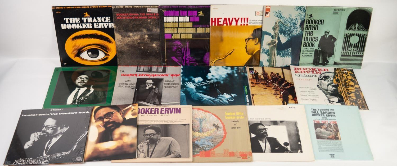 JAZZ, VINYL RECORDS- E IS FOR BOOKER ERVIN-THE BLUES BOOK, Prestige, (PR 7340). Booker Ervin