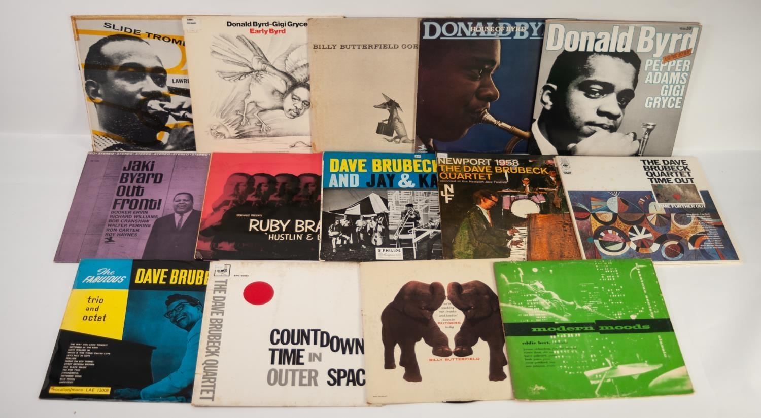 JAZZ, VINYL RECORDS- B IS FOR LAWRENCE BROWN-SLIDE TROMBONE, Verve Records Clef Series (MG V