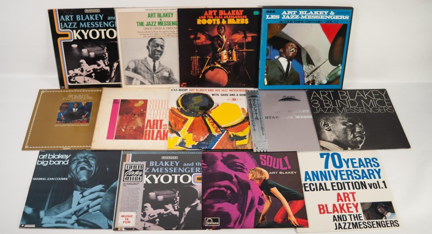 JAZZ, VINYL RECORDS- B IS FOR ART BLAKEY-THE WITCH DOCTOR, Blue Note (BST 84258). Art Blakey and the - Image 2 of 2