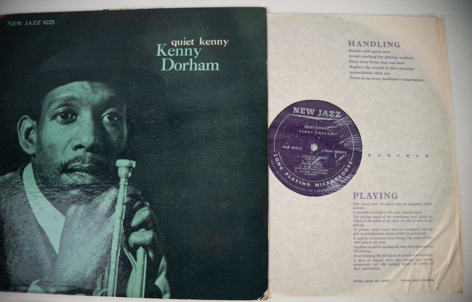 JAZZ, VINYL RECORDS- D IS FOR KENNY DORHAM-QUIET KENNY, NEW JAZZ (NJLP 8225). Original US pressing - Image 3 of 7