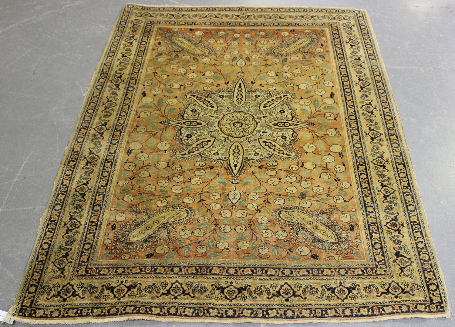 Lot 2925 - A Doroksh rug, Central Persia, early 20th century, the pale chestnut field with a boteh decorated