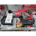 Milwaukee Cat # 2729-20 Portable Cordless Band Saw