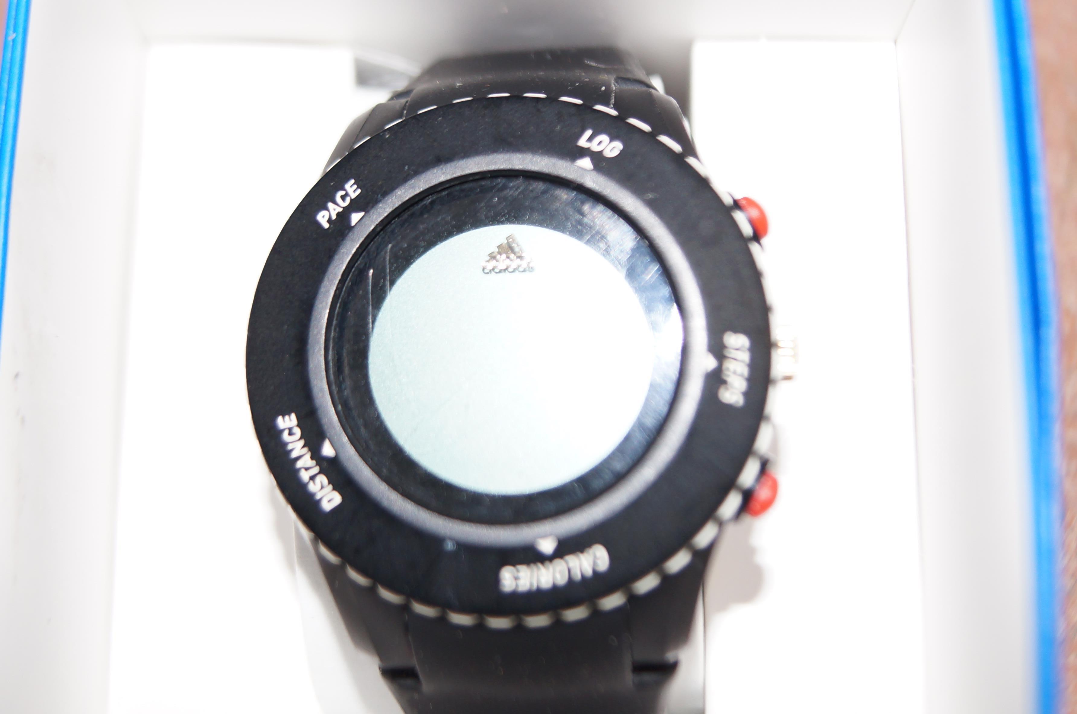 Lot 230 - Boxed Adidas wristwatch