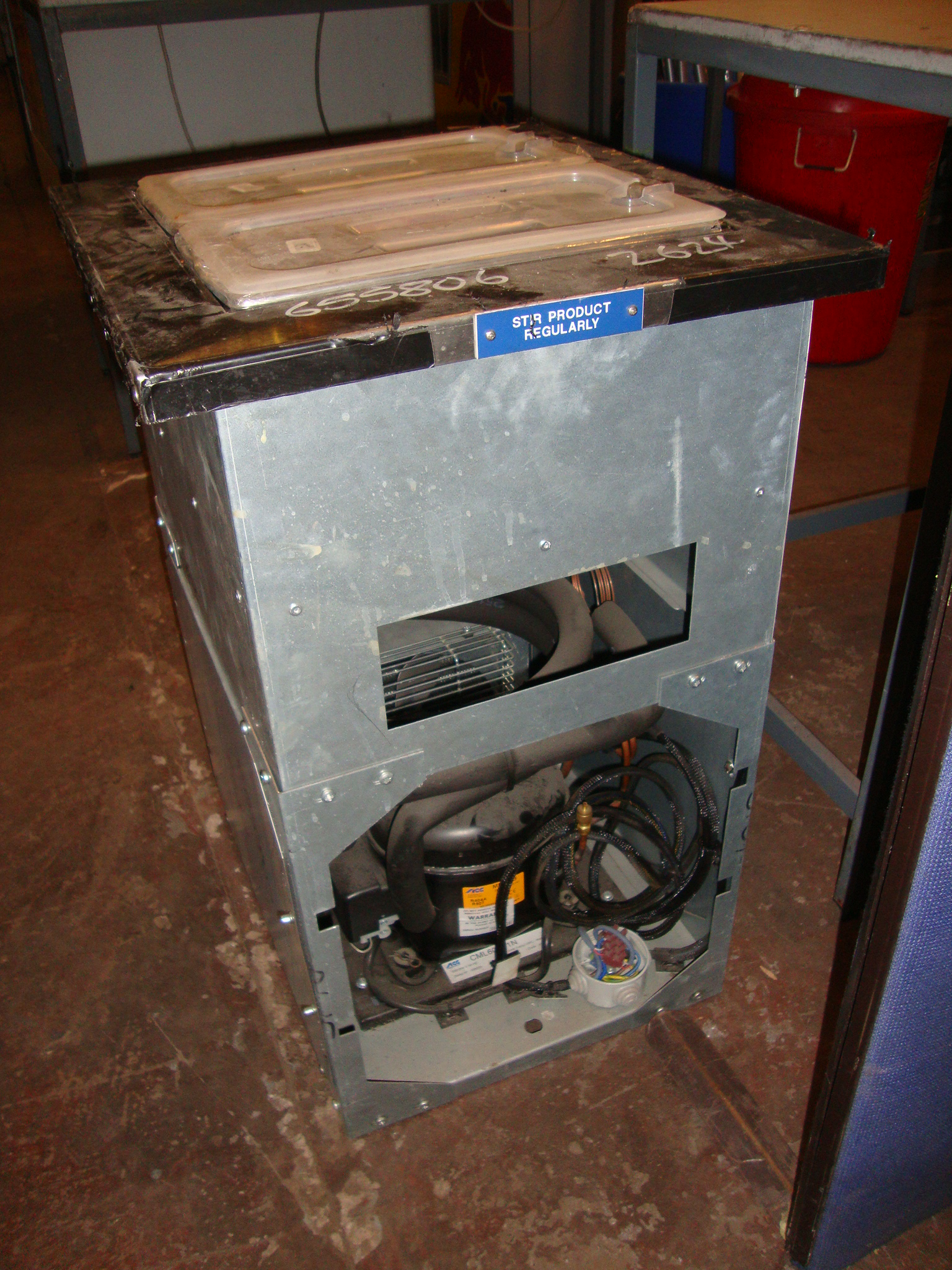Lot 191 Integrated refrigerated system with twin lift out dispensing  #603E2E