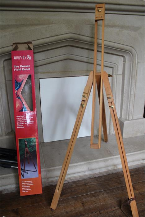 """Lot 124 - """"The Dorset field easel"""" Manufactured by Reeves - Boxed"""