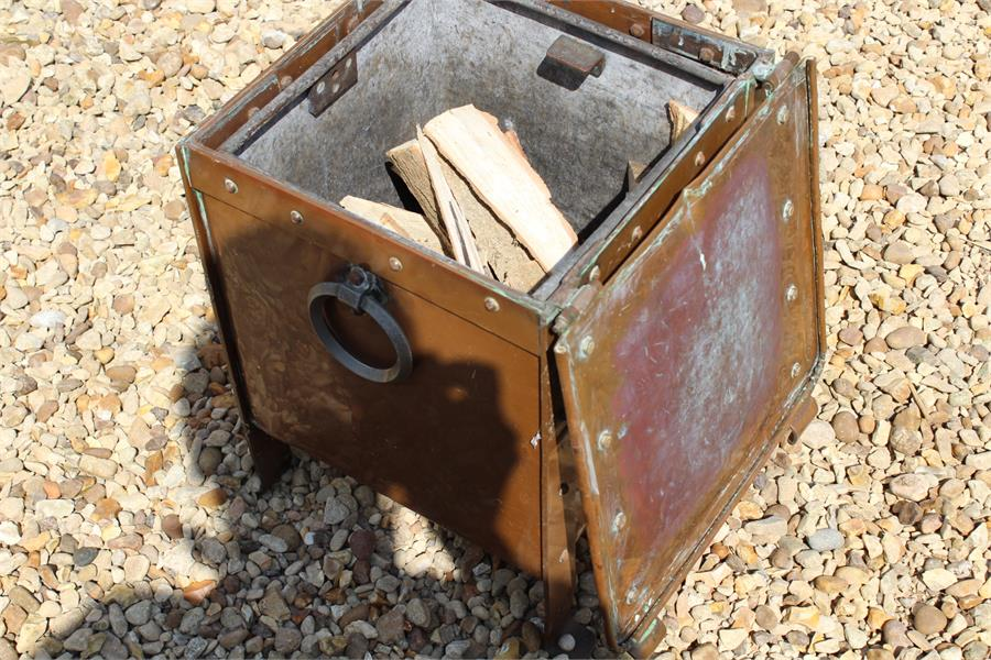 Lot 10 - Copper Coal / Log Bin