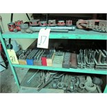 LOT CONSISTING OF: hand stamps & transfer punches