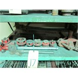 LOT CONSISTING OF: pipe wrenches & pipe threaders