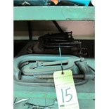 LOT OF C-CLAMPS, assorted