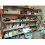 RACK, w/maintenance supplies