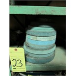 LOT OF GRINDING WHEELS, assorted