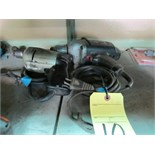 LOT OF ELECTRIC DRILLS (2), assorted
