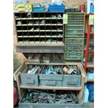 LOT OF CABINETS, w/fasteners & electrical supplies