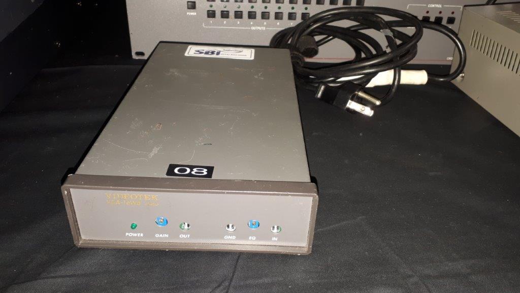 Lot 20 - Amplificateur de Signal Vidéo Videotek VDA-16WB