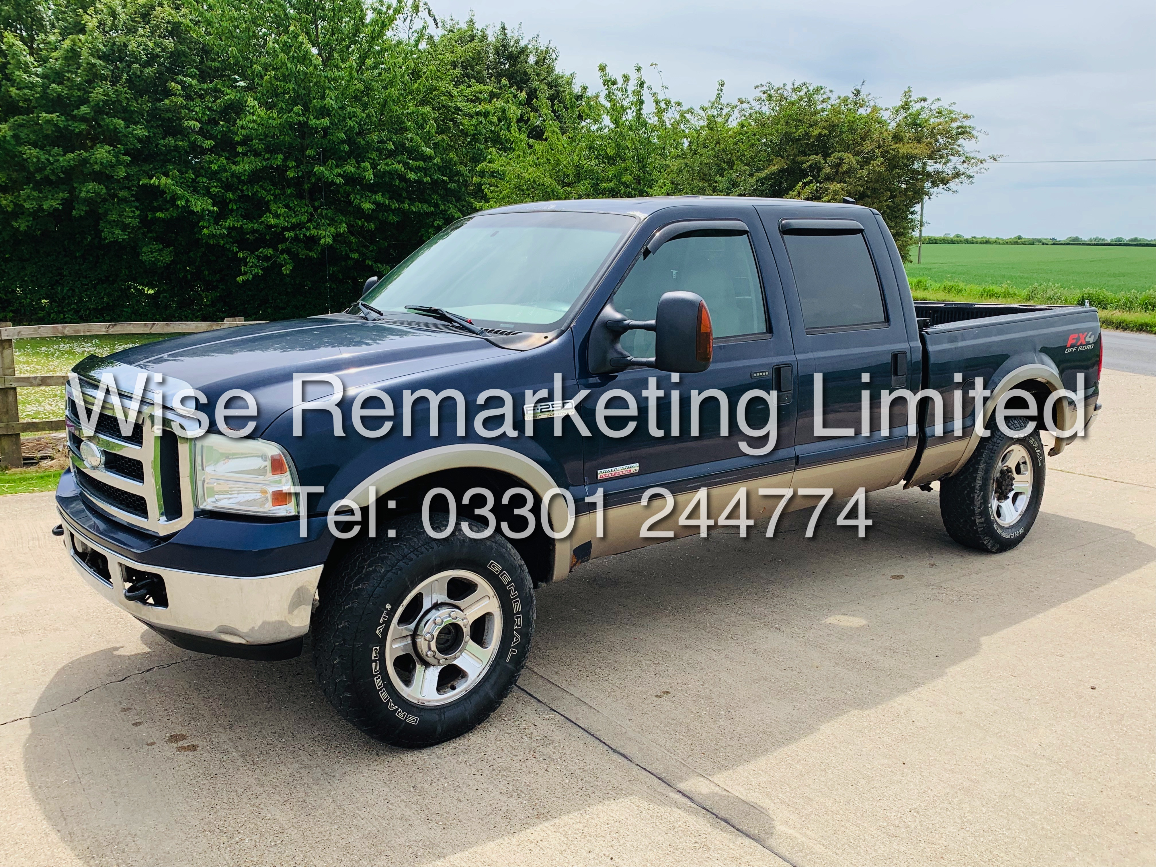 FORD F-250 6.0L V8**DIESEL**2007**4X4*LARIAT SPEC**DOUBLE-CAB**ULTRA RARE**FRESH IMPORT** - Image 6 of 18