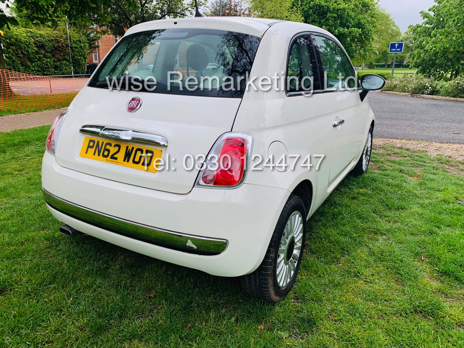 **RESERVE MET**FIAT 500 1.2 LOUNGE DUALOGIC STOP/START (2013 SPEC) ONLY 36K MILES *1 OWNER* AIR CON - Image 9 of 23
