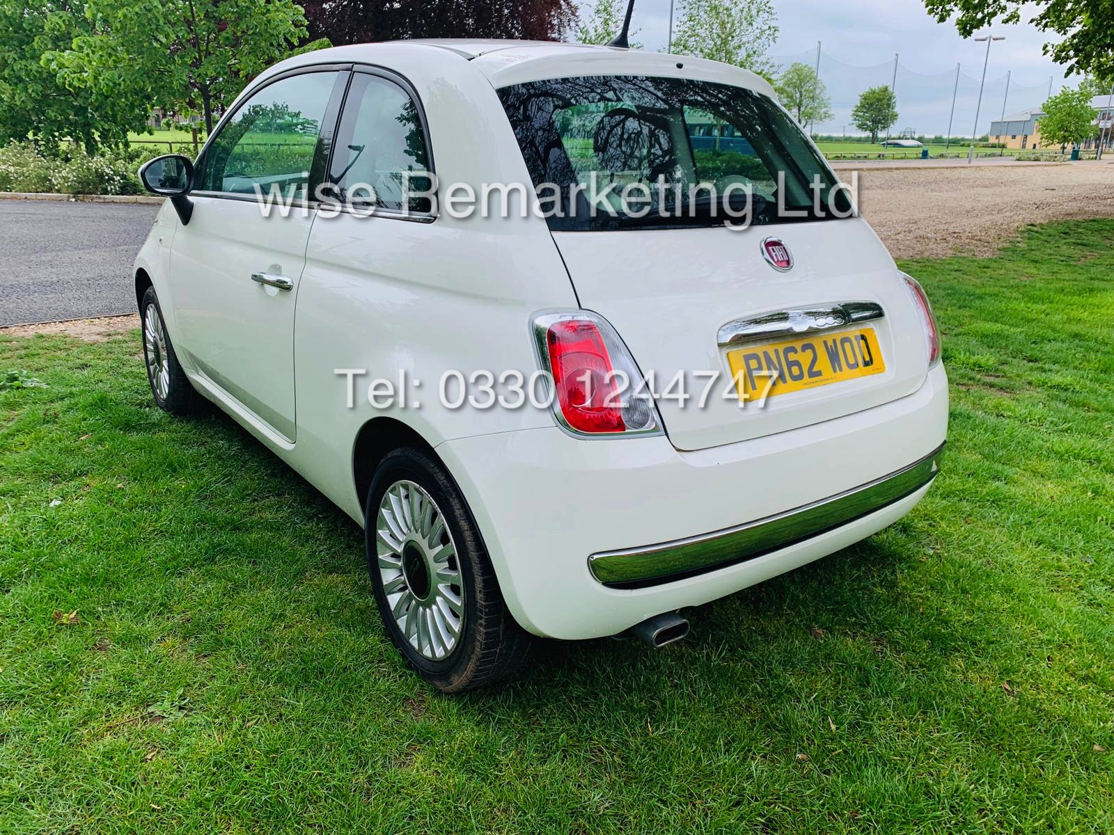 **RESERVE MET**FIAT 500 1.2 LOUNGE DUALOGIC STOP/START (2013 SPEC) ONLY 36K MILES *1 OWNER* AIR CON - Image 10 of 23