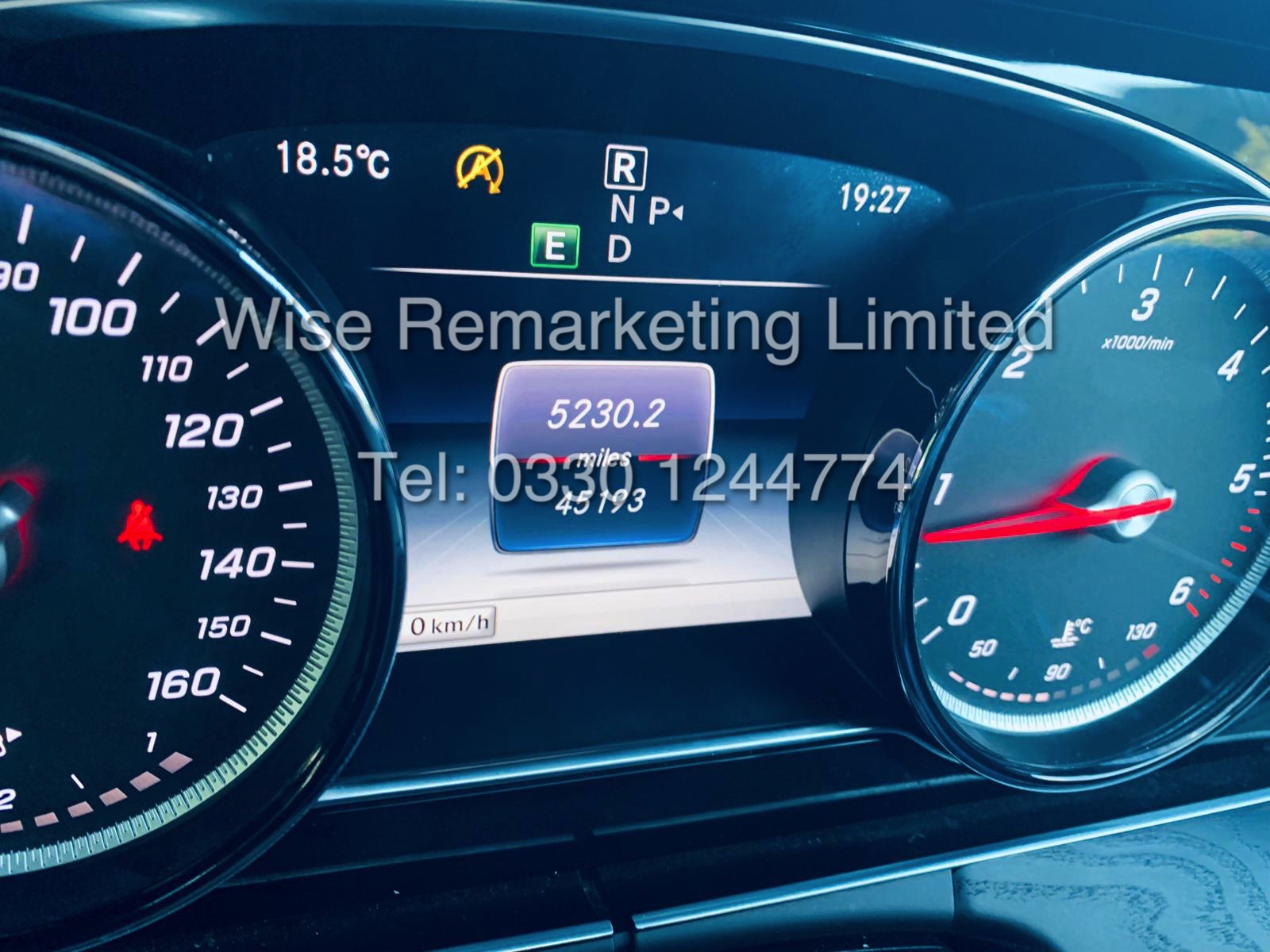 MERCEDES E CLASS ESTATE E220D AMG LINE 2017 / 9G -TRONIC / *LOW MILES* / 1 OWNER - Image 42 of 42
