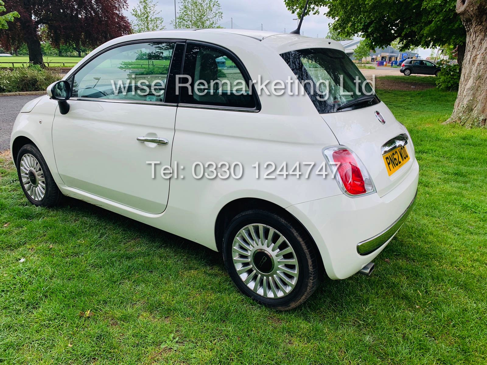 **RESERVE MET**FIAT 500 1.2 LOUNGE DUALOGIC STOP/START (2013 SPEC) ONLY 36K MILES *1 OWNER* AIR CON - Image 7 of 23