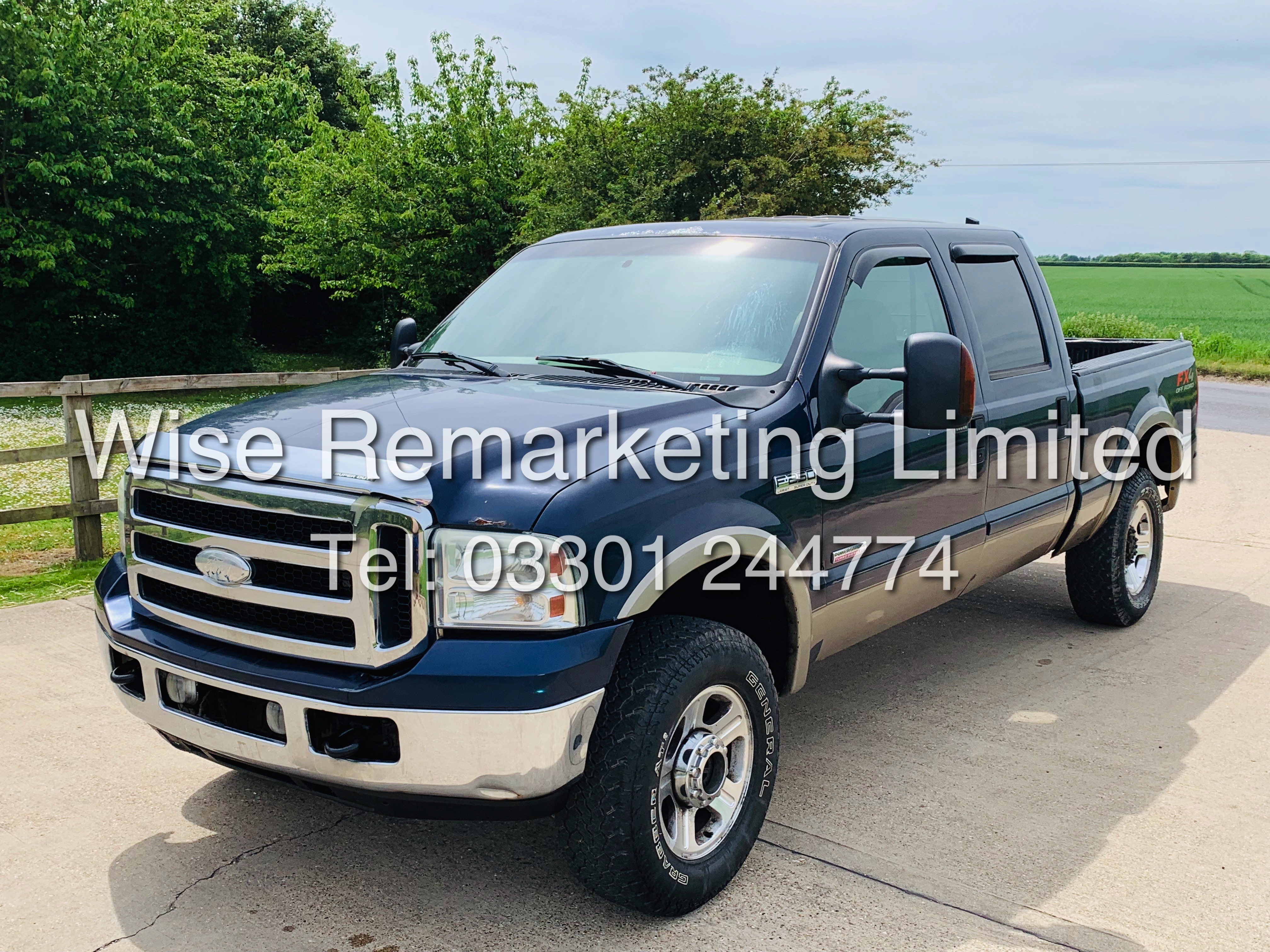 FORD F-250 6.0L V8**DIESEL**2007**4X4*LARIAT SPEC**DOUBLE-CAB**ULTRA RARE**FRESH IMPORT** - Image 2 of 18
