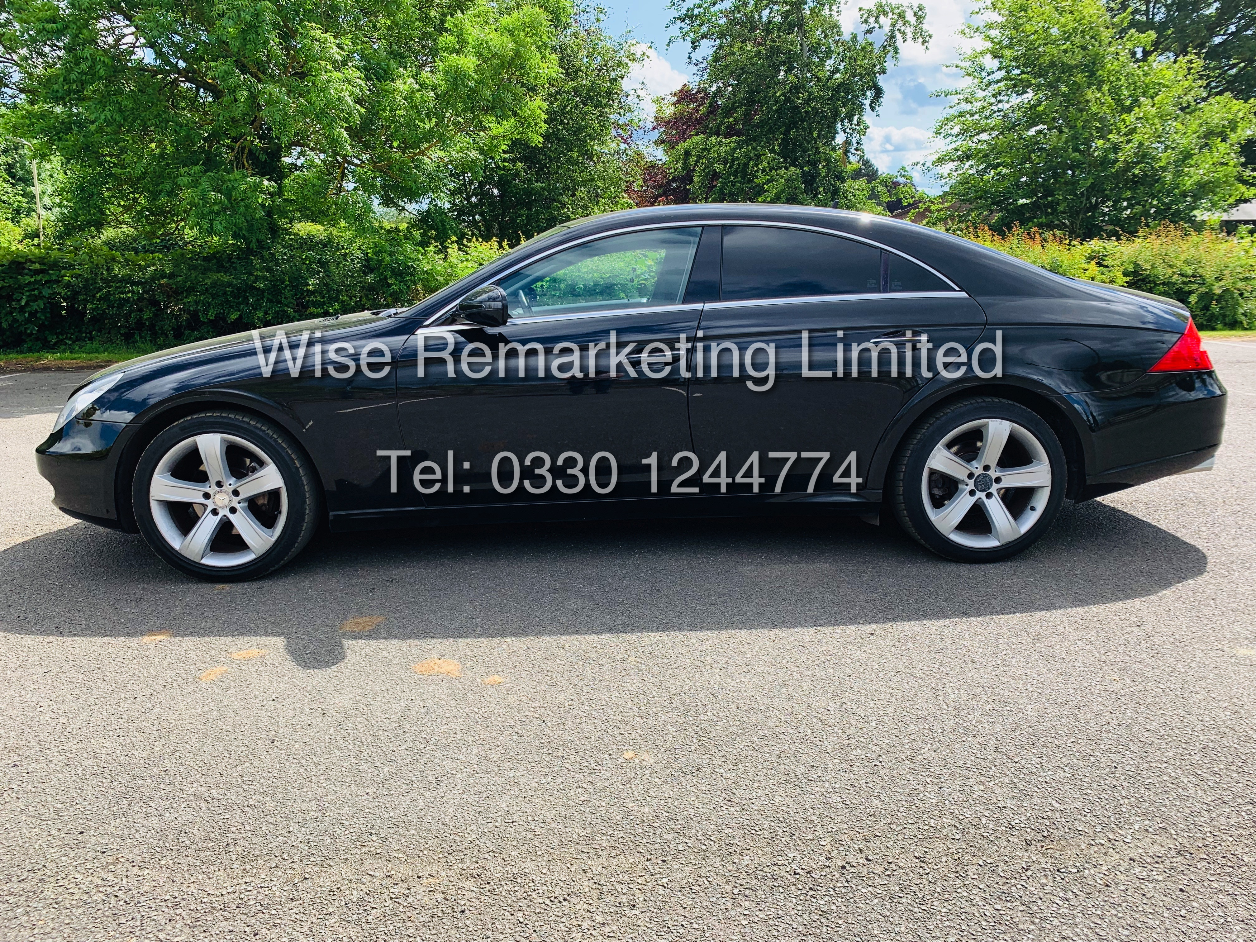 * RESERVE MET* MERCEDES CLS350 CDI SPORT COUPE AUTOMATIC (BLACK EDITION) 2010 / LOW MILES / NO VAT - Image 6 of 24