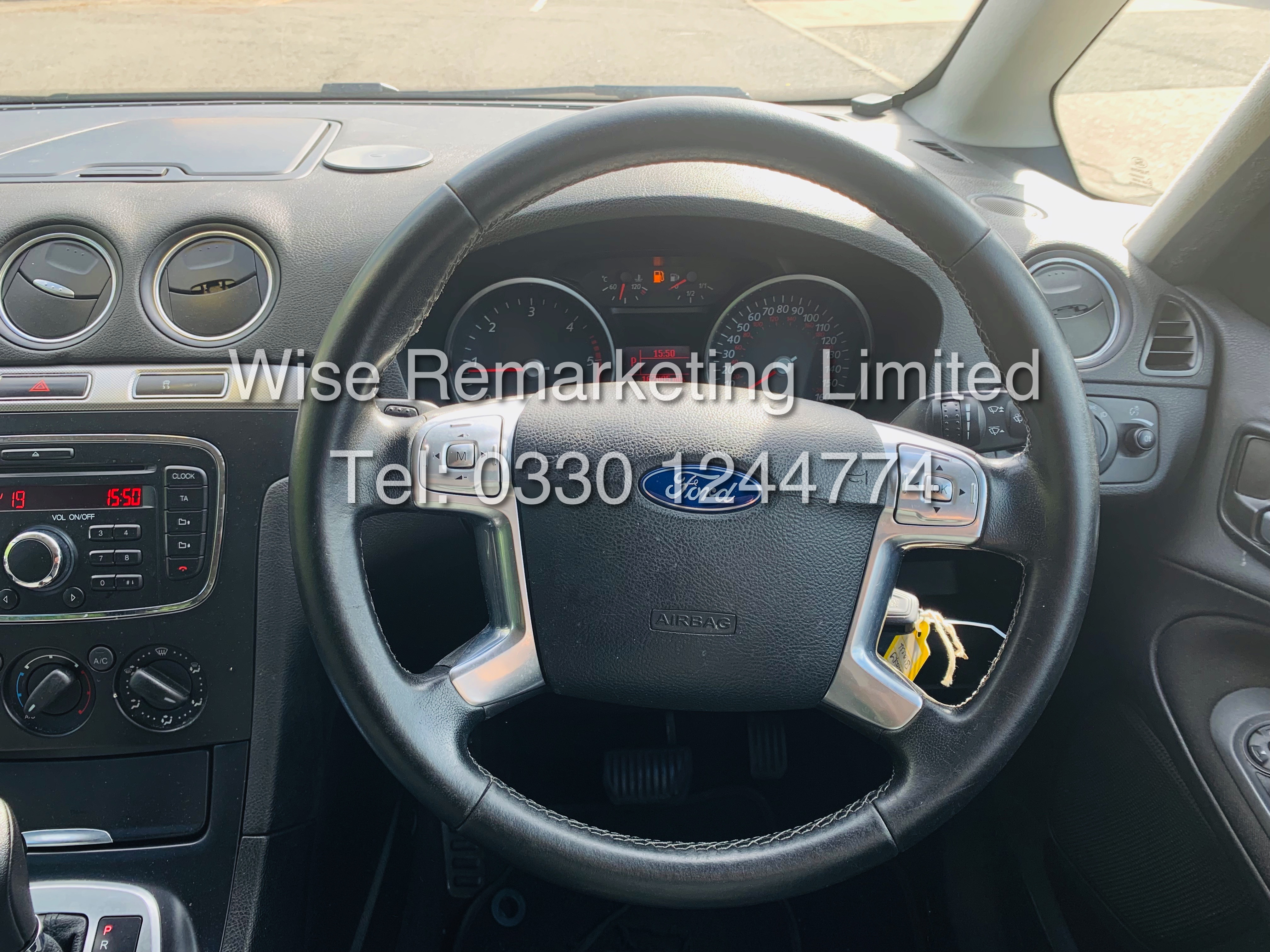 FORD GALAXY ZETEC 2.0L TDCI AUTO 7 SEATER MPV 63 REG *1 OWNER* - Image 18 of 18