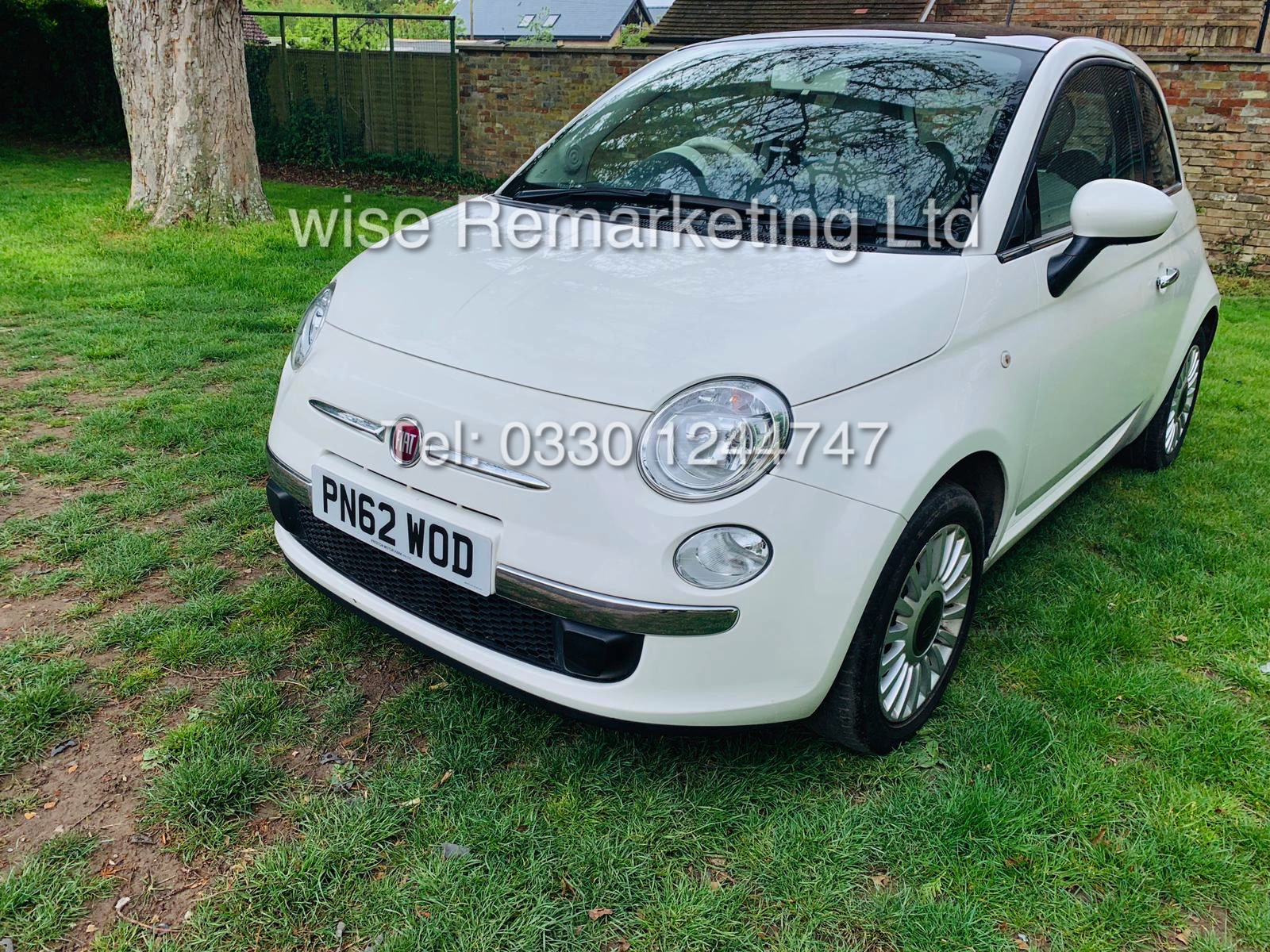 **RESERVE MET**FIAT 500 1.2 LOUNGE DUALOGIC STOP/START (2013 SPEC) ONLY 36K MILES *1 OWNER* AIR CON - Image 5 of 23