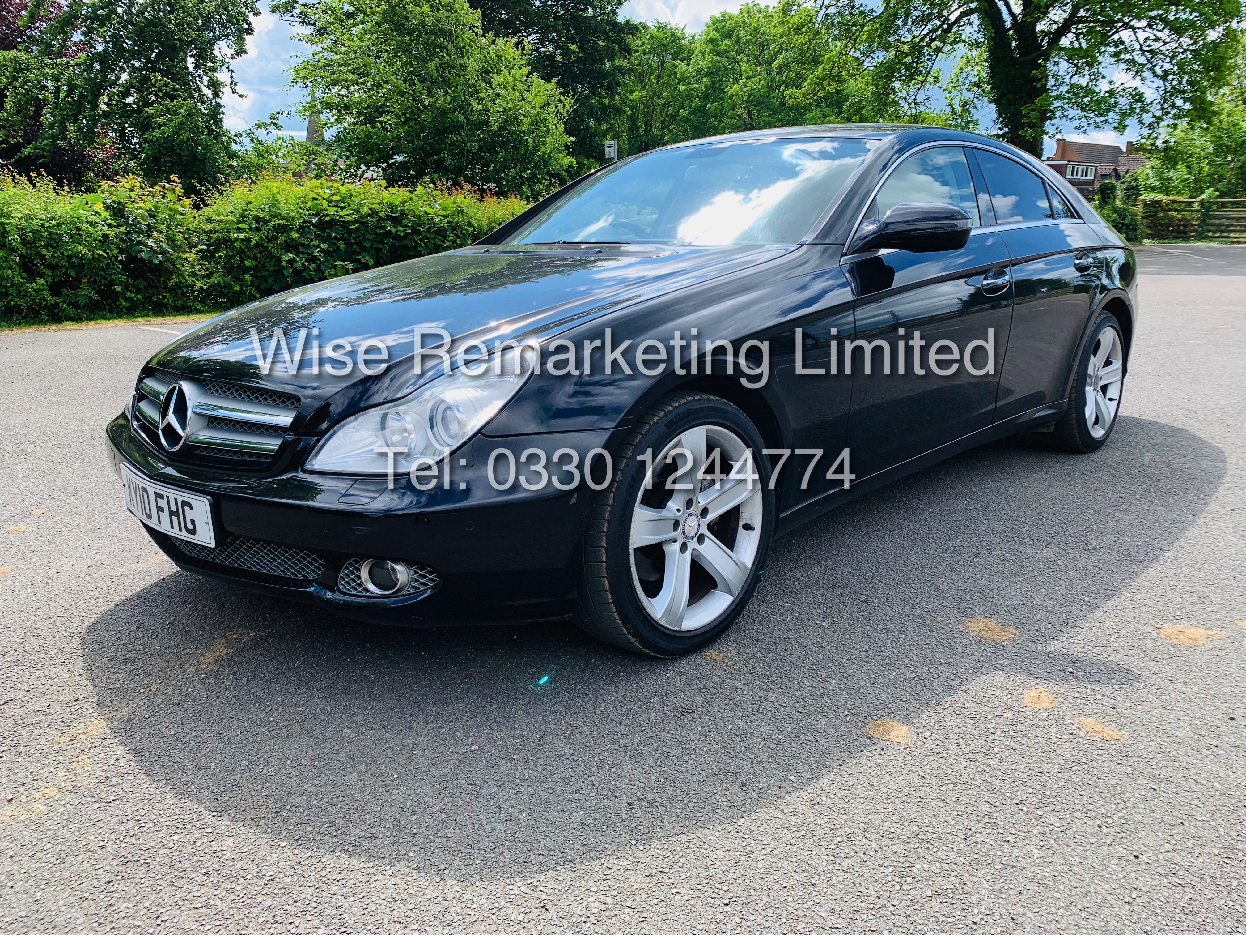 * RESERVE MET* MERCEDES CLS350 CDI SPORT COUPE AUTOMATIC (BLACK EDITION) 2010 / LOW MILES / NO VAT - Image 5 of 24