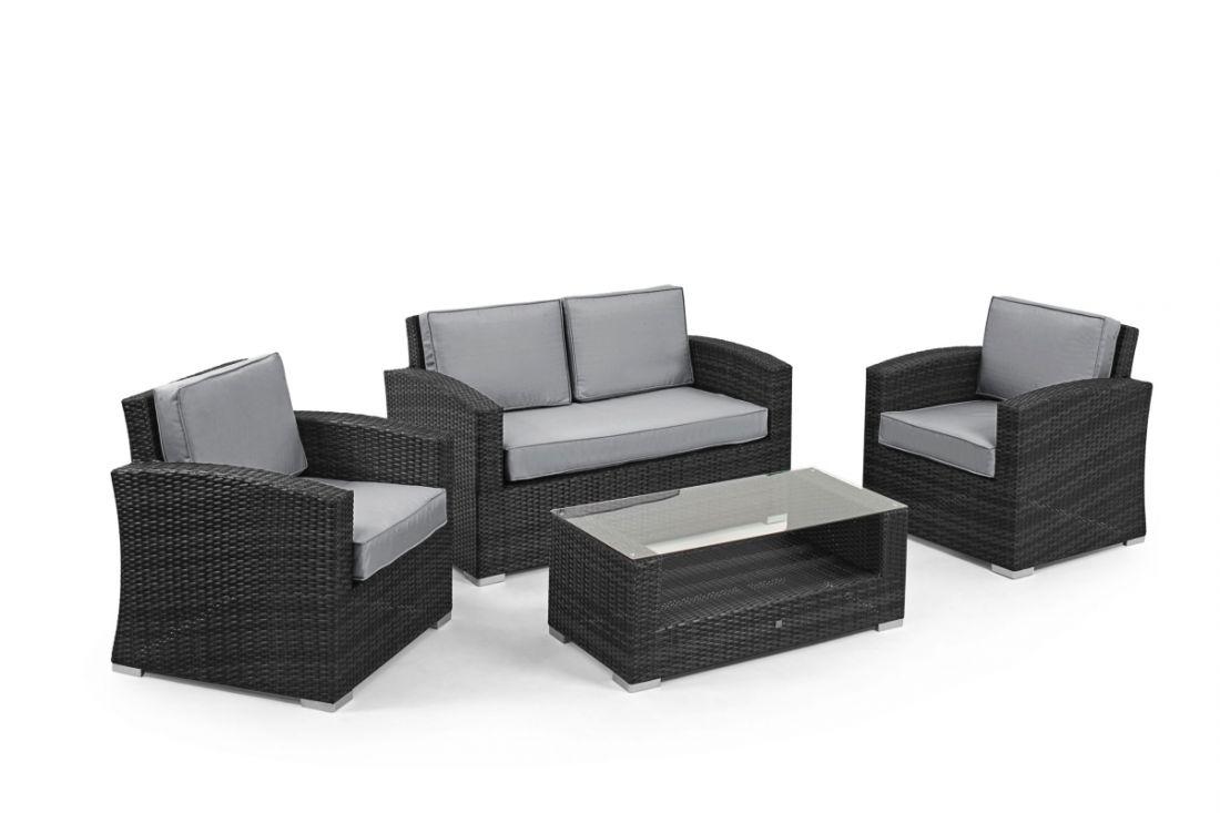 Rattan Kingston 2 Seat Sofa Set (Grey) *BRAND NEW*
