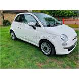 **RESERVE MET**FIAT 500 1.2 LOUNGE DUALOGIC STOP/START (2013 SPEC) ONLY 36K MILES *1 OWNER* AIR CON