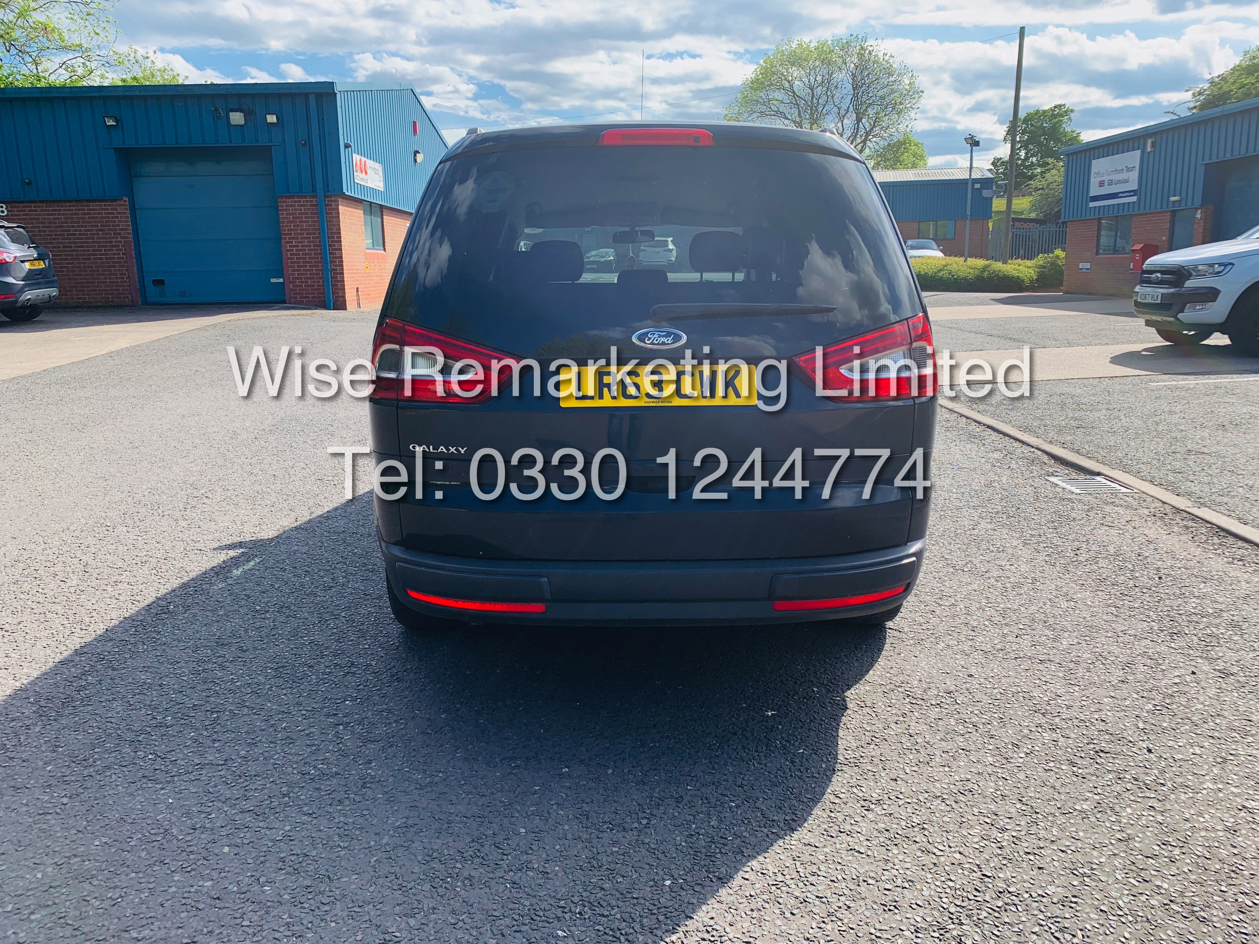 FORD GALAXY ZETEC 2.0L TDCI AUTO 7 SEATER MPV 63 REG *1 OWNER* - Image 5 of 18