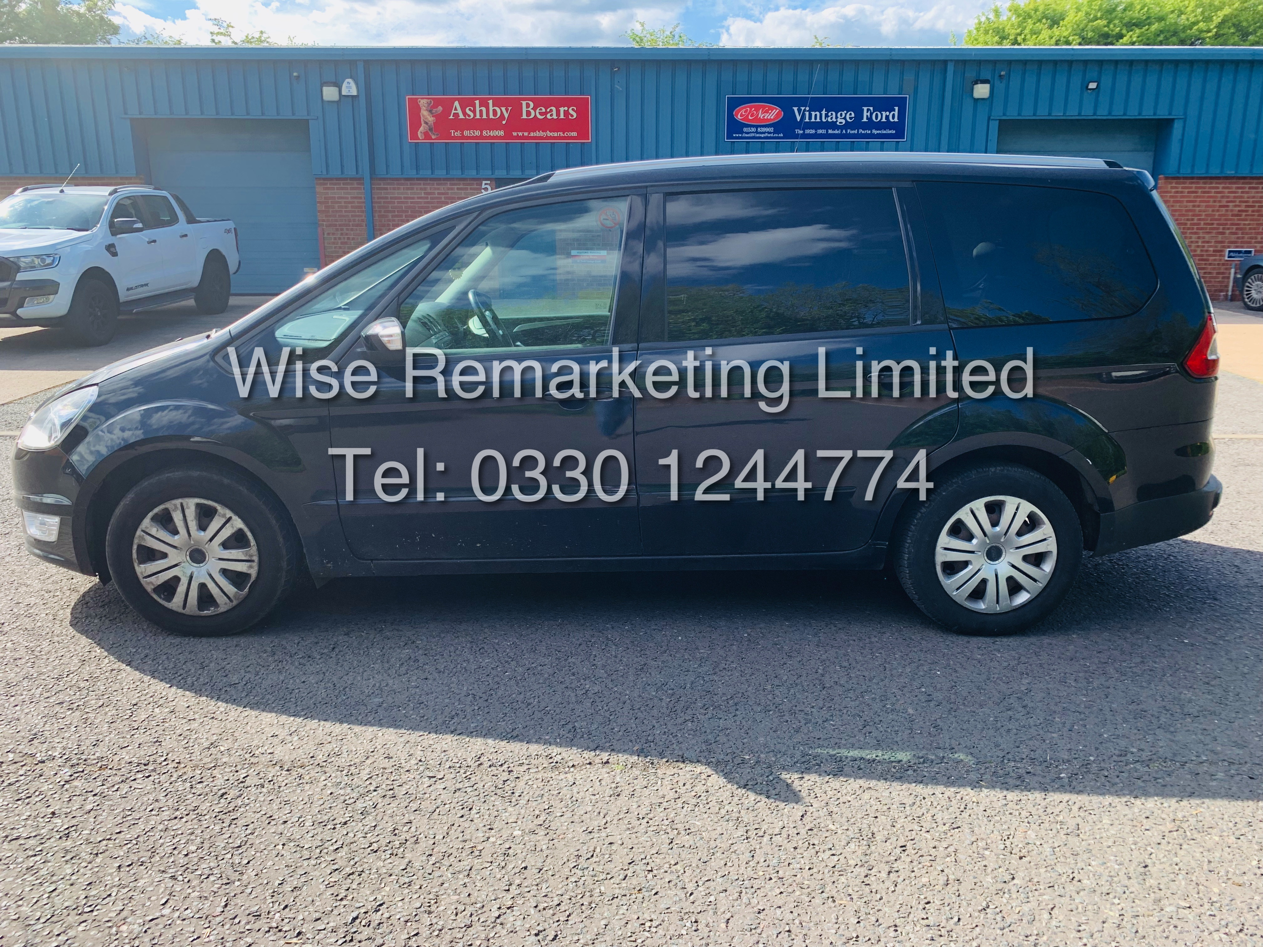 FORD GALAXY ZETEC 2.0L TDCI AUTO 7 SEATER MPV 63 REG *1 OWNER* - Image 2 of 18