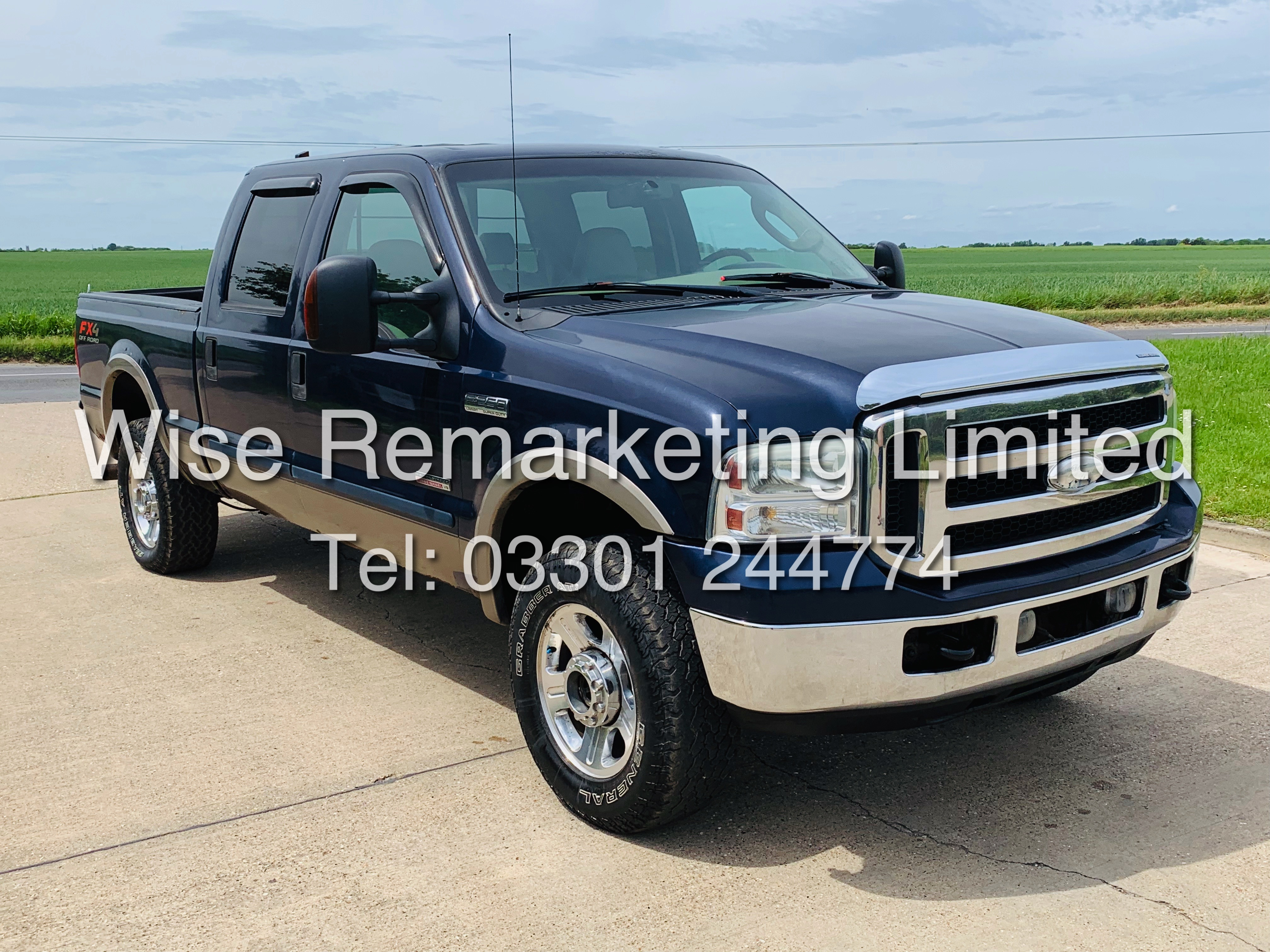 FORD F-250 6.0L V8**DIESEL**2007**4X4*LARIAT SPEC**DOUBLE-CAB**ULTRA RARE**FRESH IMPORT** - Image 4 of 18