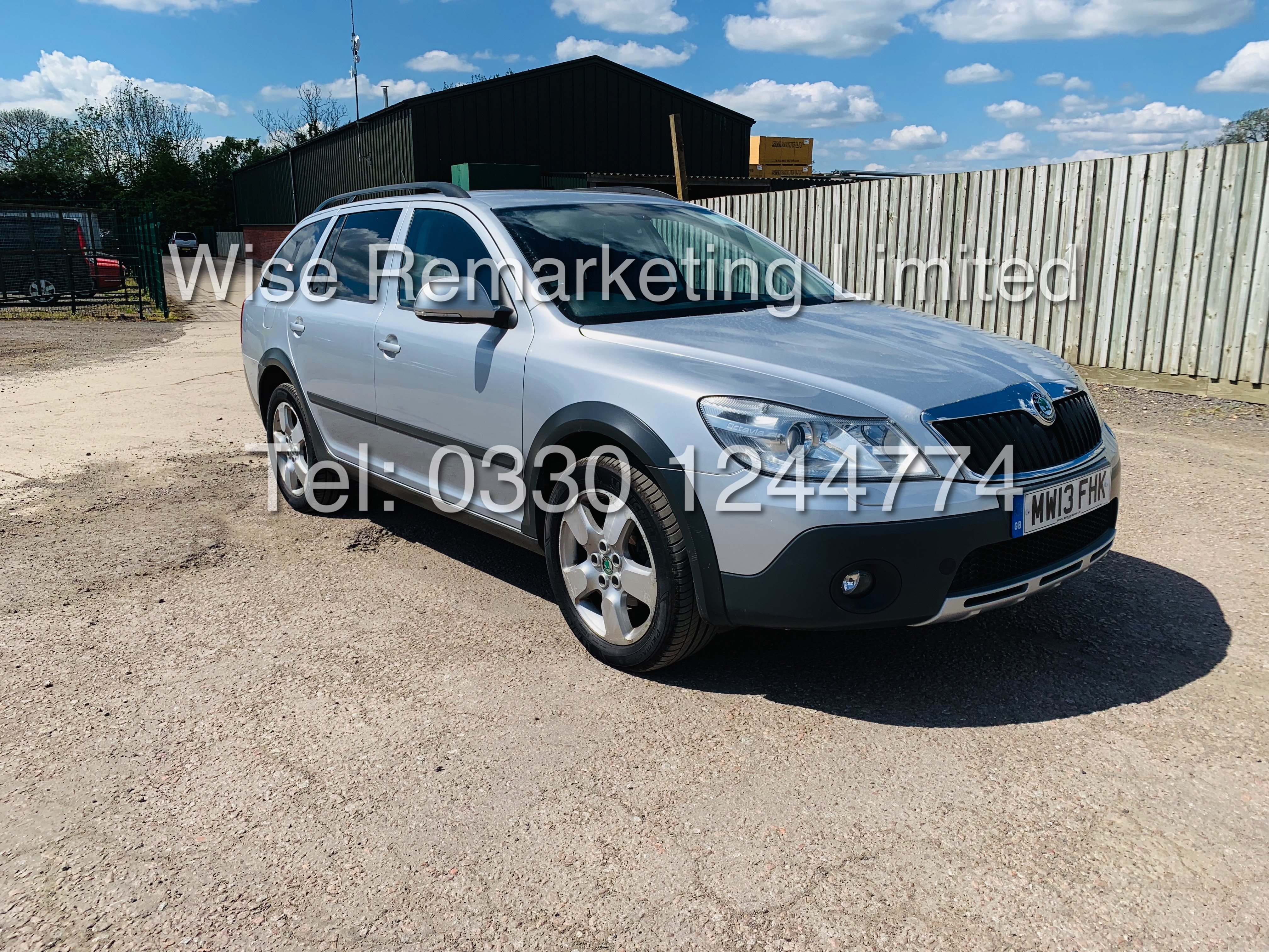 **RESERVE MET** SKODA OCTAVIA (SCOUT) 2.0tdi DSG AUTOMATIC ESTATE / 2013 / 1 OWNER WITH FULL HISTORY