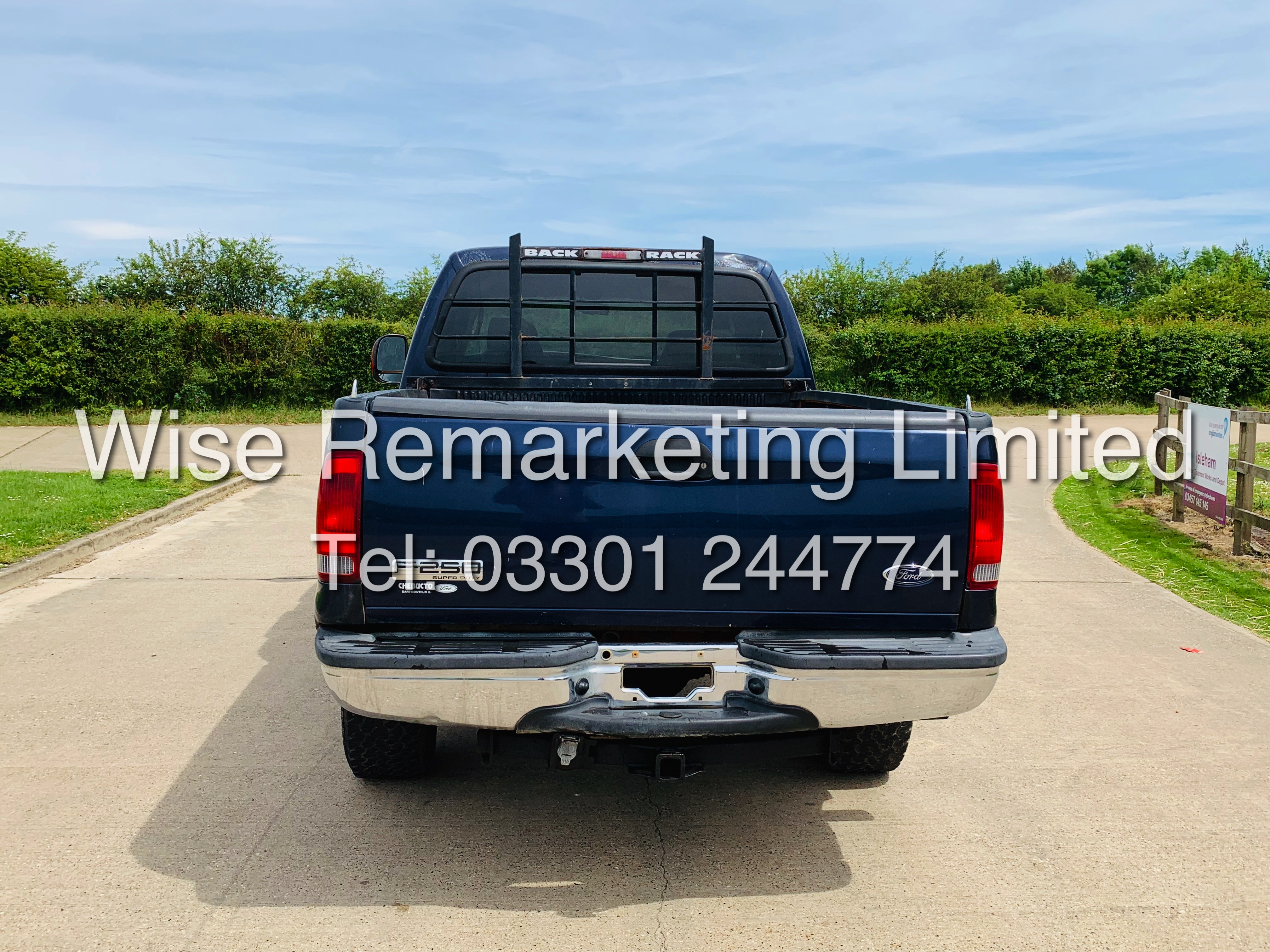 FORD F-250 6.0L V8**DIESEL**2007**4X4*LARIAT SPEC**DOUBLE-CAB**ULTRA RARE**FRESH IMPORT** - Image 8 of 18