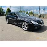 * RESERVE MET* MERCEDES CLS350 CDI SPORT COUPE AUTOMATIC (BLACK EDITION) 2010 / LOW MILES / NO VAT