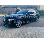 MERCEDES E CLASS ESTATE E220D AMG LINE 2017 / 9G -TRONIC / *LOW MILES* / 1 OWNER