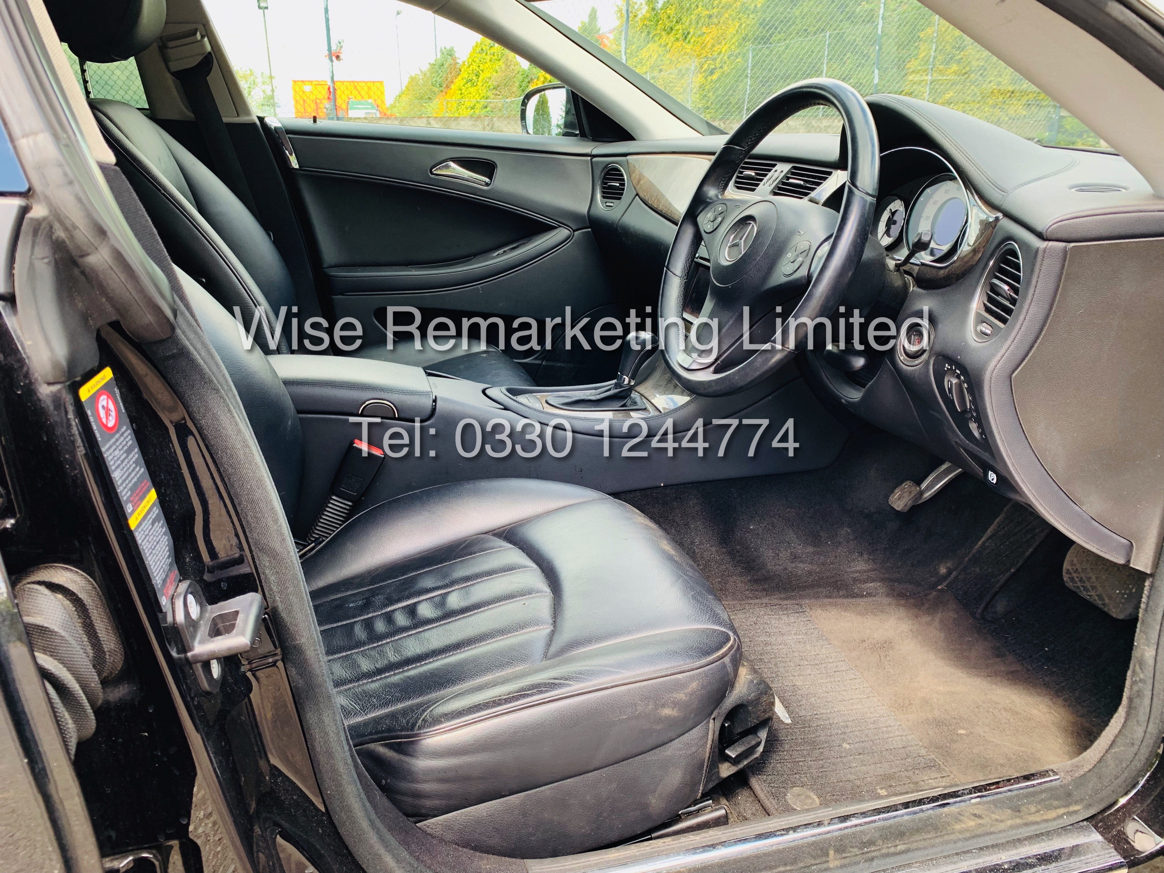 * RESERVE MET* MERCEDES CLS350 CDI SPORT COUPE AUTOMATIC (BLACK EDITION) 2010 / LOW MILES / NO VAT - Image 10 of 24