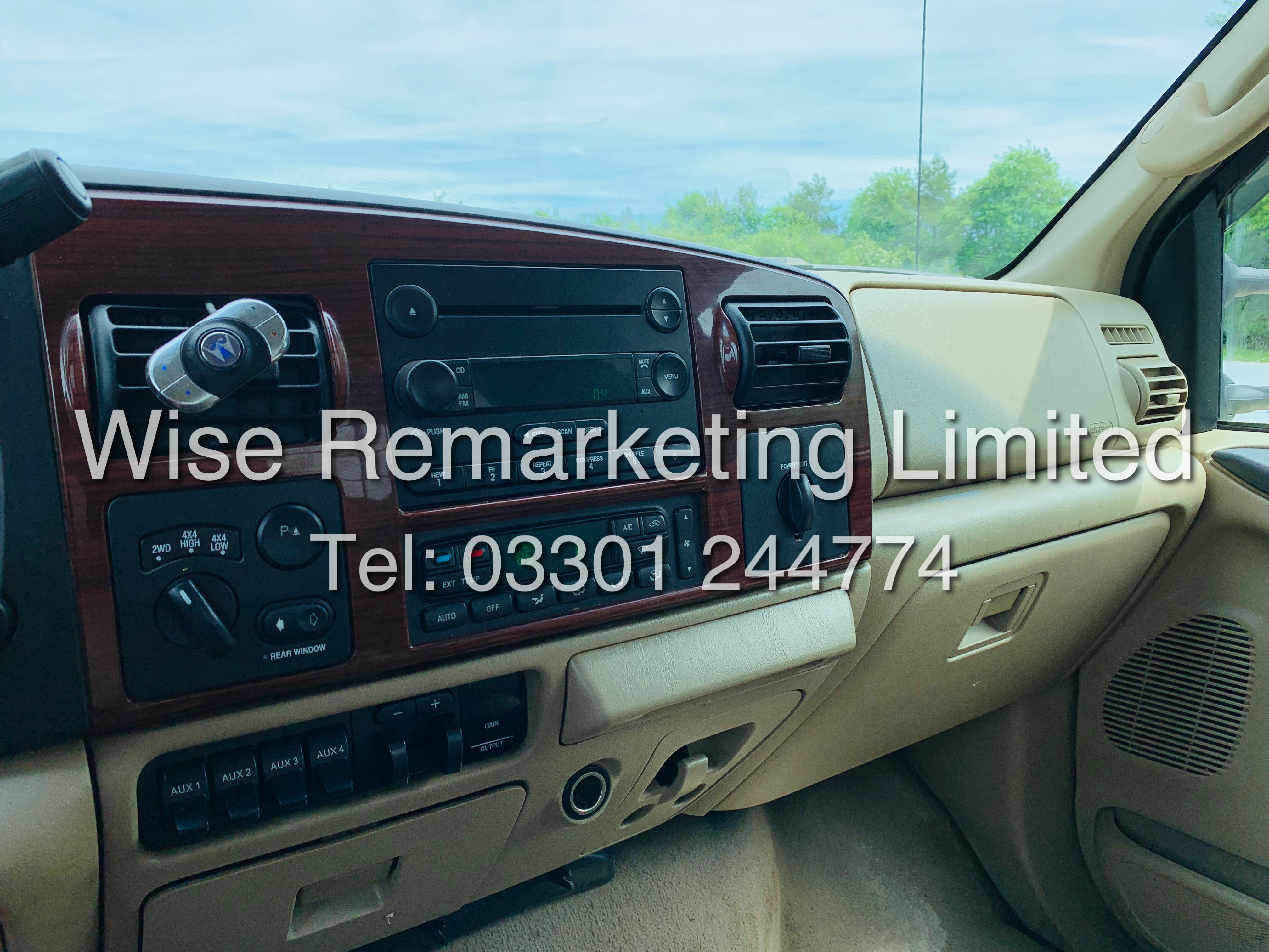 FORD F-250 6.0L V8**DIESEL**2007**4X4*LARIAT SPEC**DOUBLE-CAB**ULTRA RARE**FRESH IMPORT** - Image 16 of 18