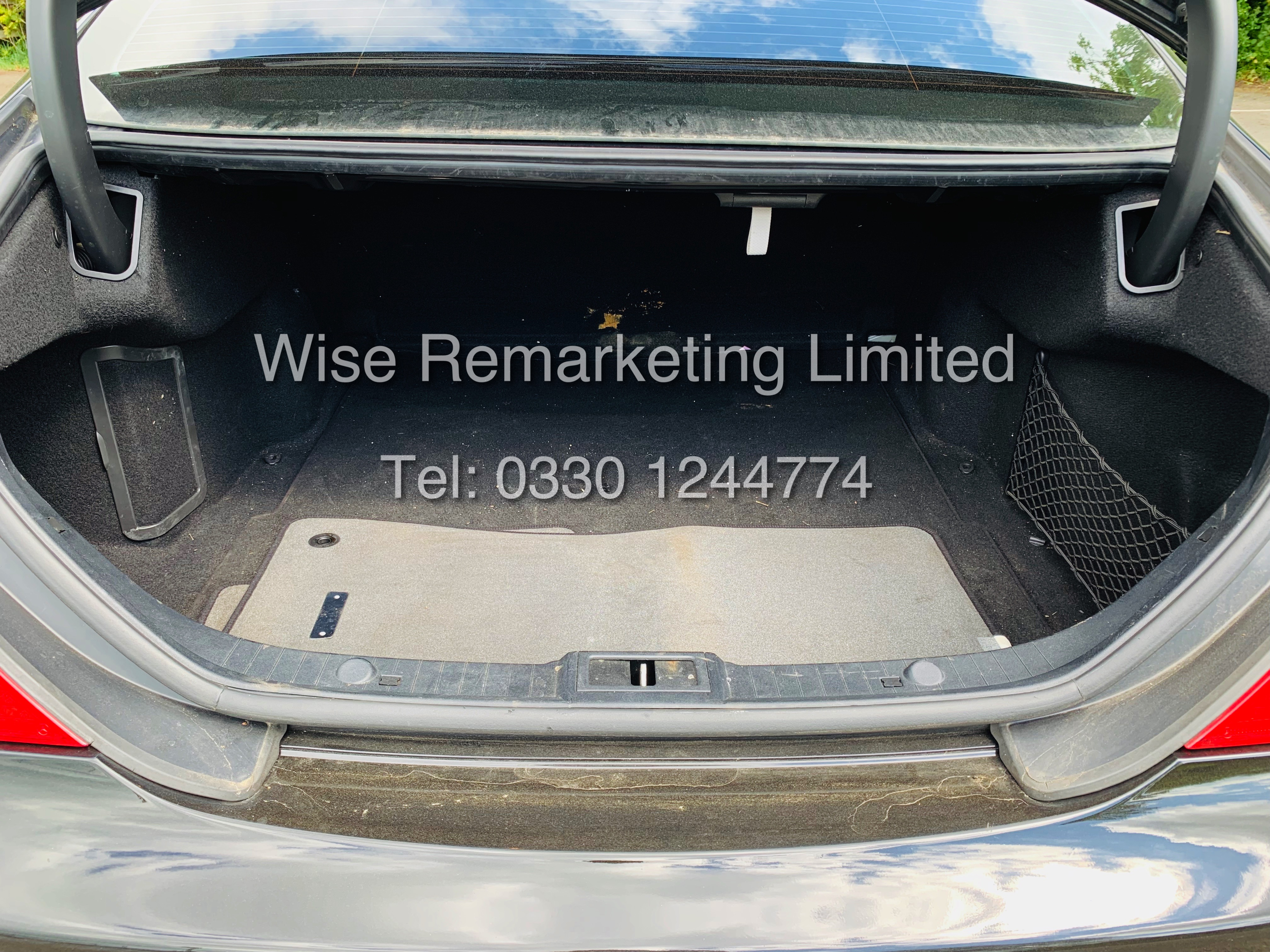 * RESERVE MET* MERCEDES CLS350 CDI SPORT COUPE AUTOMATIC (BLACK EDITION) 2010 / LOW MILES / NO VAT - Image 21 of 24