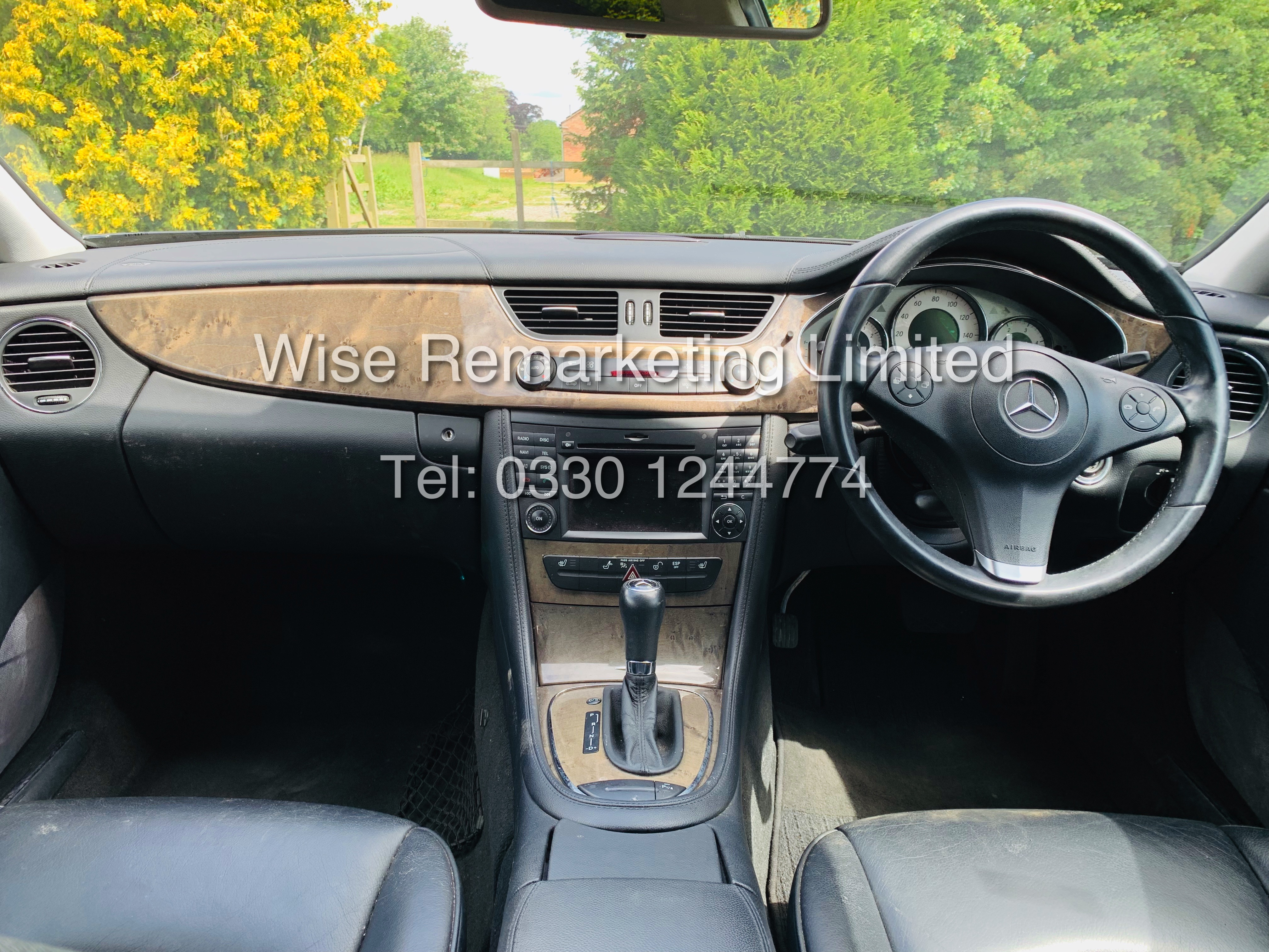 * RESERVE MET* MERCEDES CLS350 CDI SPORT COUPE AUTOMATIC (BLACK EDITION) 2010 / LOW MILES / NO VAT - Image 13 of 24