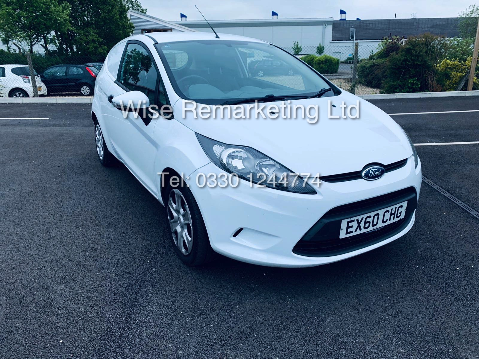 FORD FIESTA 1.4 TDCI CAR DERIVED VAN *FSH* (2011 SPEC) VERY WELL MAINTAINED