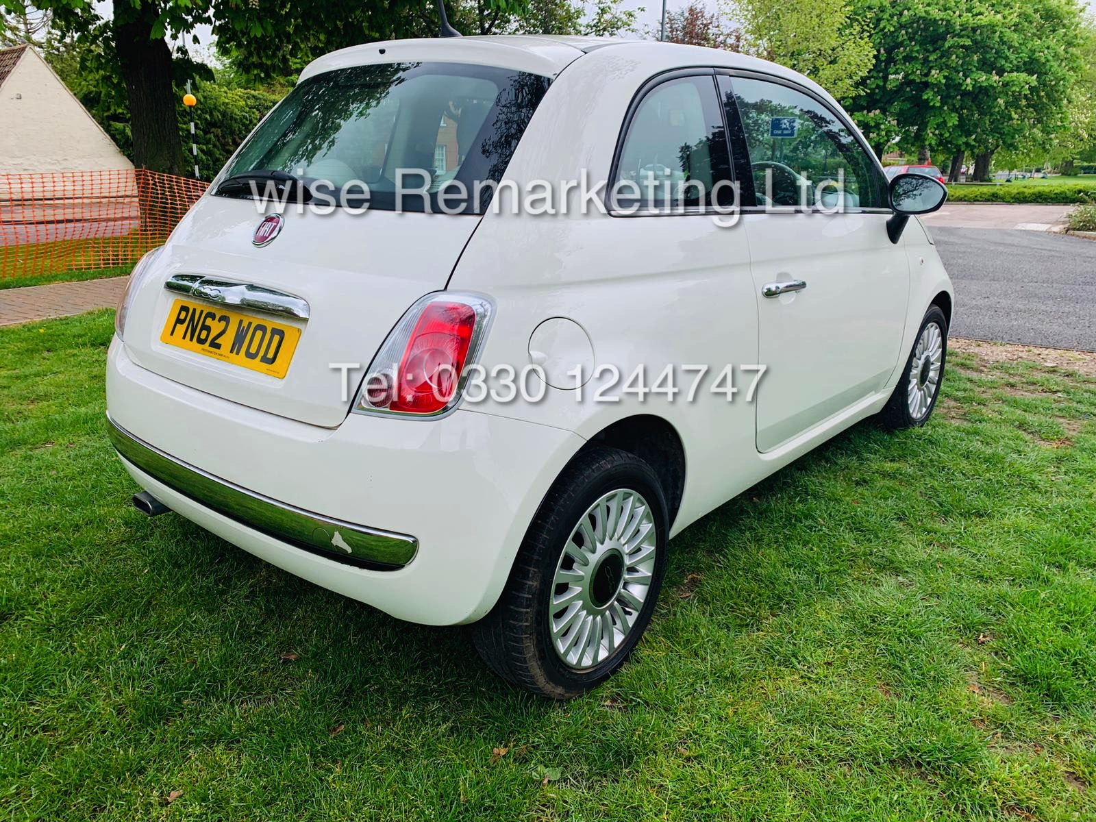 **RESERVE MET**FIAT 500 1.2 LOUNGE DUALOGIC STOP/START (2013 SPEC) ONLY 36K MILES *1 OWNER* AIR CON - Image 11 of 23