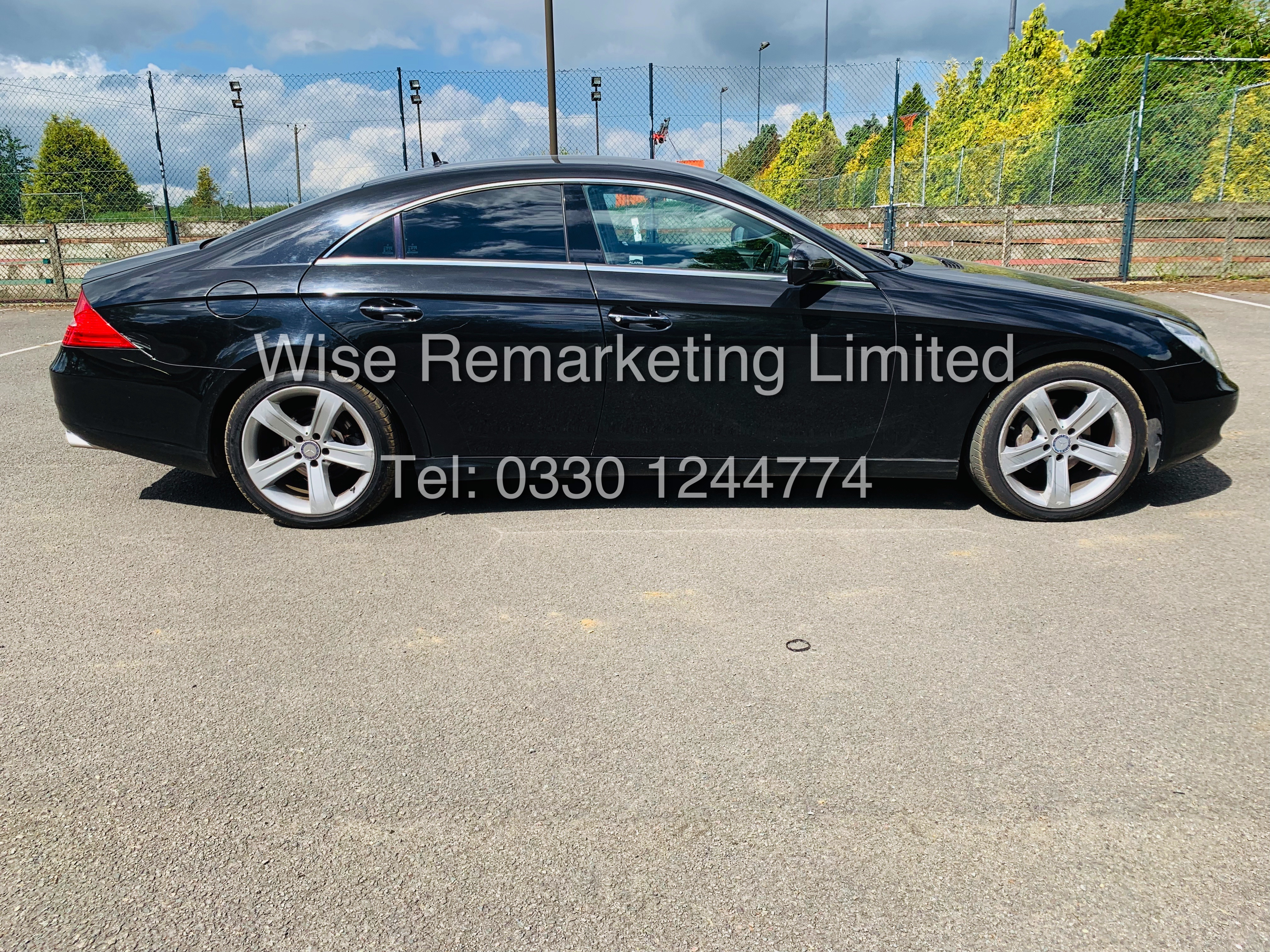 * RESERVE MET* MERCEDES CLS350 CDI SPORT COUPE AUTOMATIC (BLACK EDITION) 2010 / LOW MILES / NO VAT - Image 2 of 24